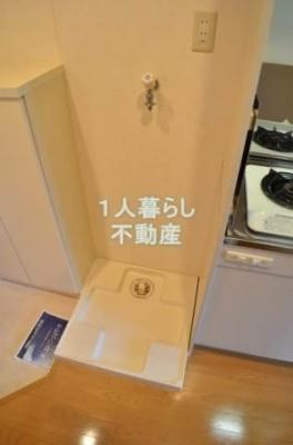 室内洗濯機置場ございます*別室参考写真です