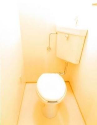 トイレも独立しています