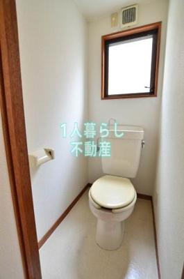 トイレに窓があると換気にもいいね