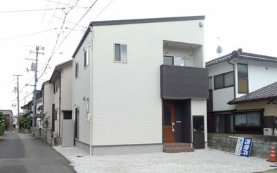 【外観パース】鳥取市卯垣新築戸建て