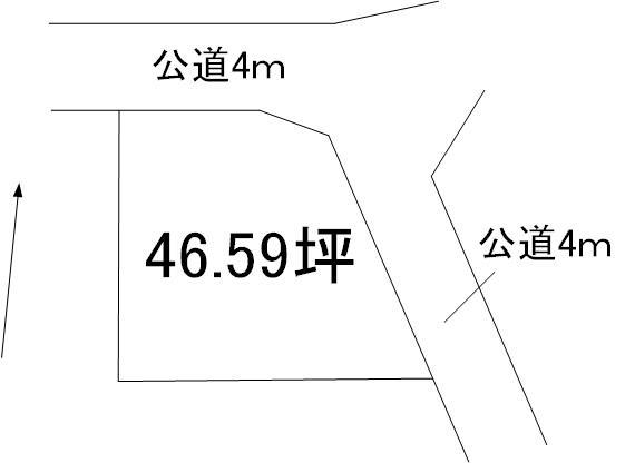 【土地図】白梅2丁目土地