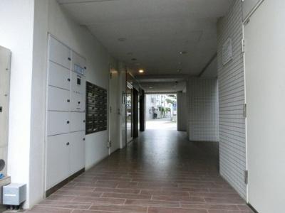 【エントランス】プラティーク戸越公園