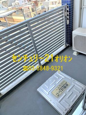 【バルコニー】GRAND TRUTH 桜台駅前-7F