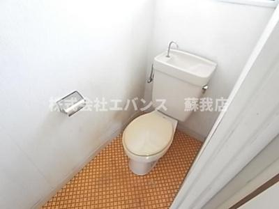 【トイレ】今関ハイツ
