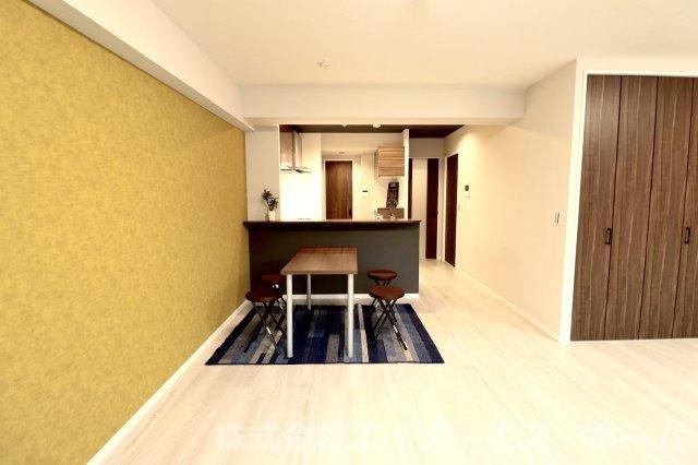 ◆完成予定3Dパース◆一級建築士事務所の当社がデザインした自慢のフルリノベーション住戸です。是非一度ご内覧ください。