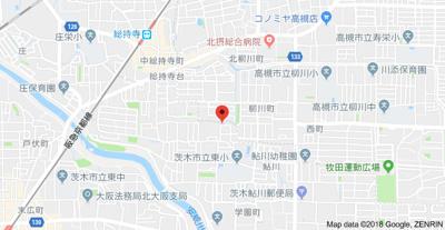 【地図】扇ハイツ
