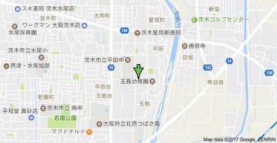 【地図】ジュネスト二番館