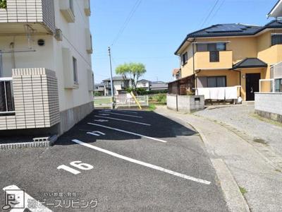 【駐車場】コーポ松橋