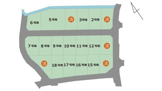【区画図】楡木3丁目 18号地