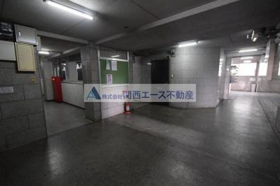 【エントランス】ベストレジデンス瓢箪山