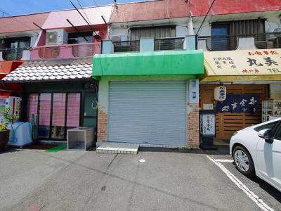【駐車場】坂井店舗付住宅