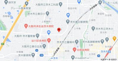 【地図】メゾンモア―