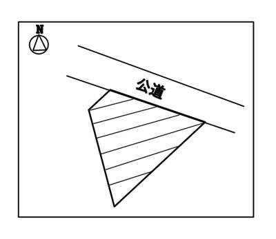 【区画図】岡谷市長地小萩1丁目 売地⑨