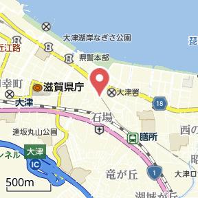 【地図】石場貸家 テラスハウス