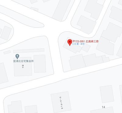 【地図】宮浦1丁目 中古戸建
