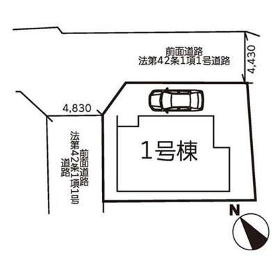 【区画図】神戸市西区王塚台1期