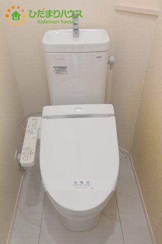 【トイレ】桶川市坂田西3丁目 中古一戸建て