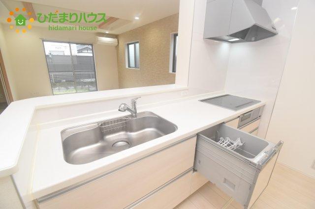 【キッチン】桶川市坂田西3丁目 中古一戸建て