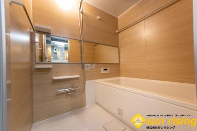【浴室】リーセントレジデンス