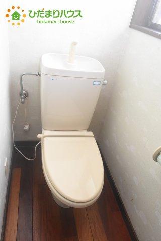 【トイレ】桶川市朝日1丁目 中古一戸建て