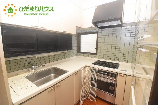 【キッチン】桶川市朝日1丁目 中古一戸建て