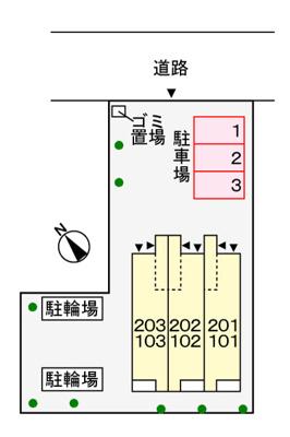 【区画図】Confort(コンフォルト)