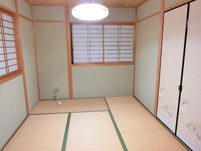 【現地写真】 落ち着ける和室のリラックス空間です♪
