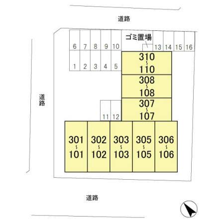 【区画図】シャインクロコ