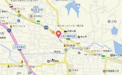 【地図】浅井マンション・