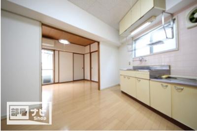 【居間・リビング】浅井マンション・