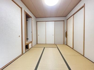 【寝室】霞ヶ丘6丁戸建て