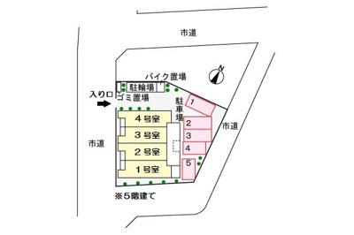 【区画図】プロムナード武蔵浦和