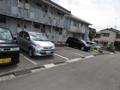【駐車場】コーポ万久
