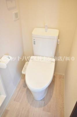 【トイレ】パルテール蒔田