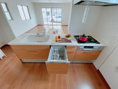 嬉しい食洗機標準装備!家事の時短・水の節約に大活躍します♪
