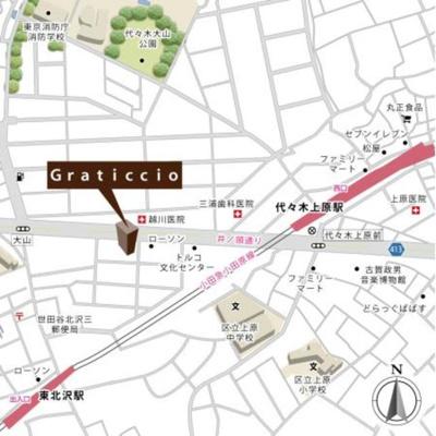 【地図】グラティッシオ【Graticcio】