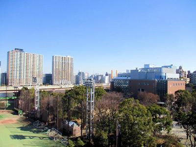 【展望】ファミール日本橋浜町公園 8階 角 部屋 リ ノベーション済