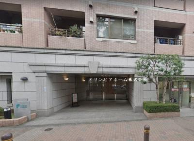 【外観】ファミール日本橋浜町公園 8階 角 部屋 リ ノベーション済