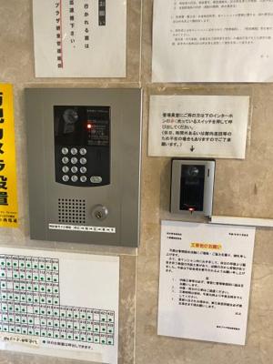 朝日プラザ堺東 カメラ付きオートロック