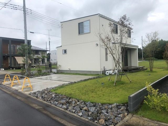 【庭】元石川町中古一戸建て