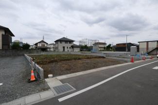 【外観】鴻巣市箕田の売地