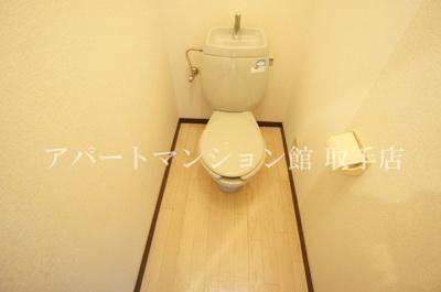【トイレ】ビラージュ取手