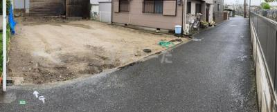 【前面道路含む現地写真】リナージュ高石市千代田20―1期