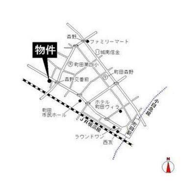 【地図】エステートピア鎌倉