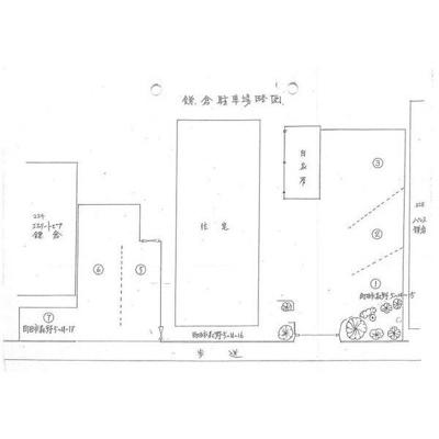 【区画図】エステートピア鎌倉