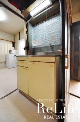 ガス対応キッチン