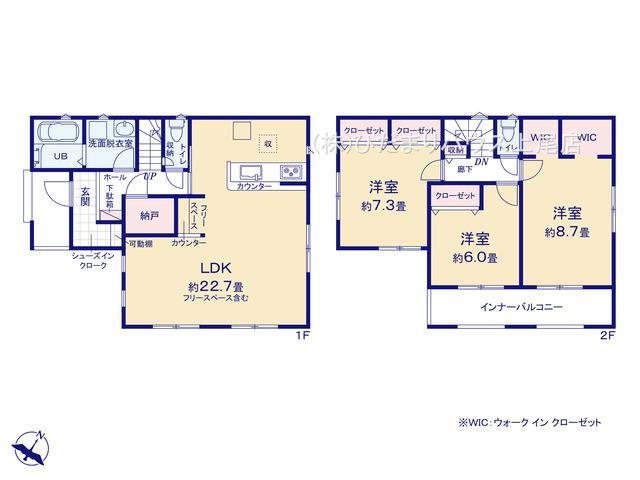 蓮田市閏戸 20-1期 新築一戸建て リナージュ 01