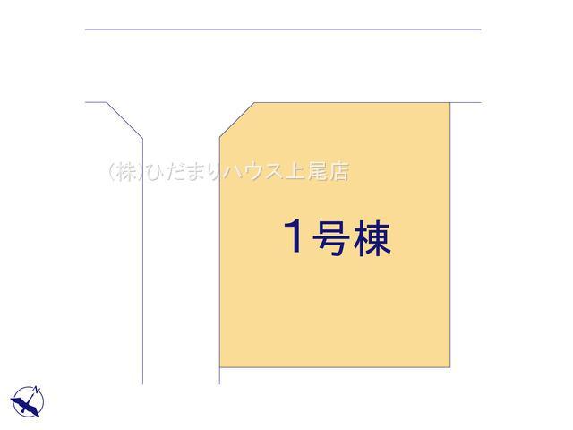 【区画図】蓮田市閏戸 20-1期 新築一戸建て リナージュ 01