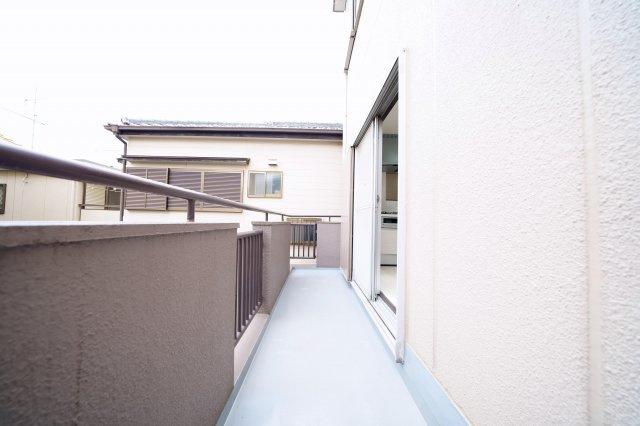 2階バルコニー