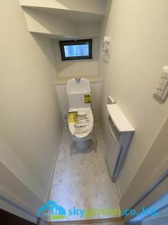 【トイレ】茅ヶ崎市萩園 新築戸建 1棟